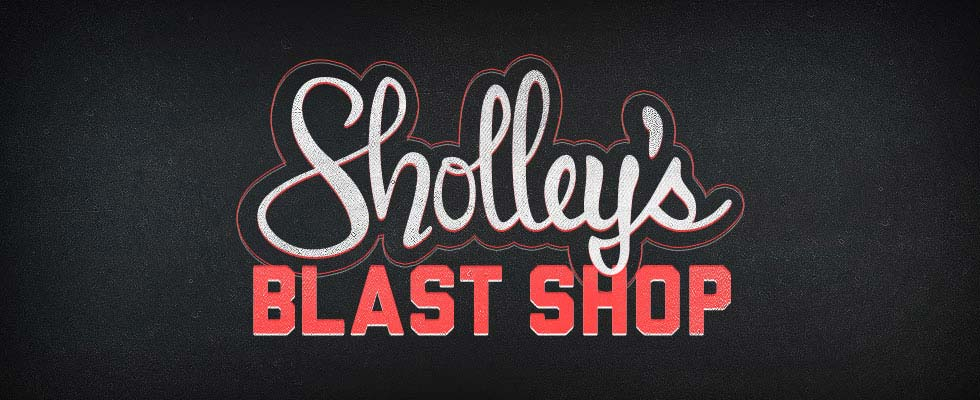 Sholley's Blast Shop Logo