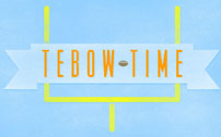 Tebow Time football wallpaper